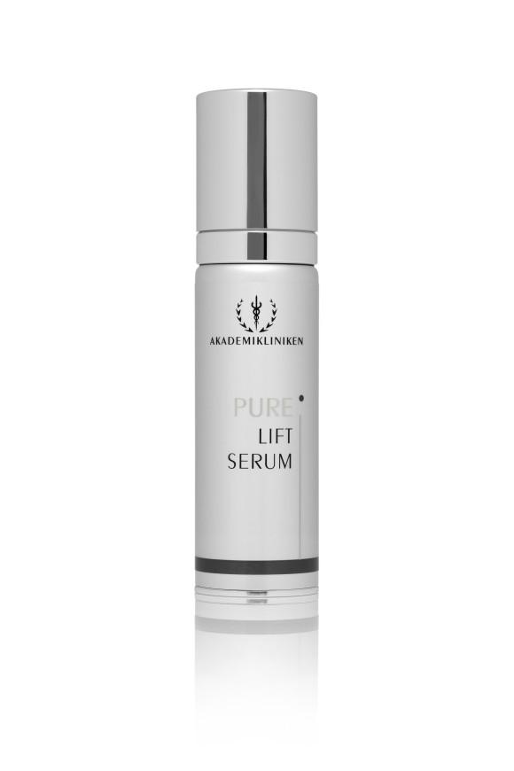 Akademikliniken Pure Lift serum med peptider og hyaluronsyre