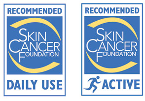 Produktene er godkjent av Skin Cancer Foundation Foto: skincancer.org